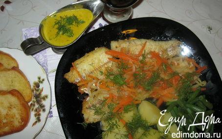 Рецепт Рыбное филе по-домашнему