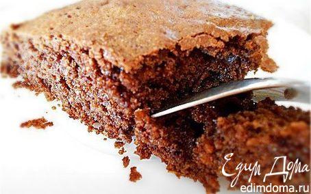 Рецепт Шоколадный кекс без муки