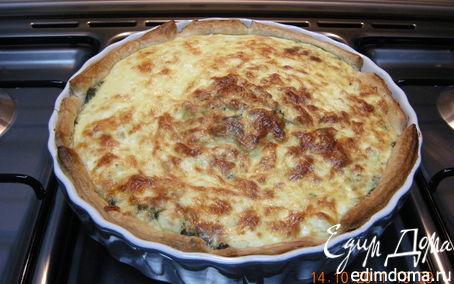 Рецепт Пирог со шпинатом по-Гречески