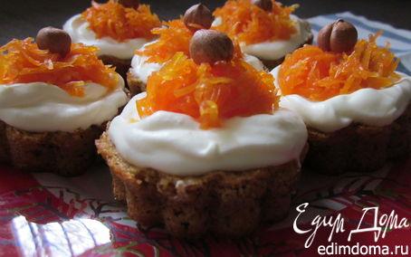 Рецепт Швейцарский морковный торт и пирожные