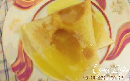 Рецепт Tescoma Блинчики с апельсиновым соусом