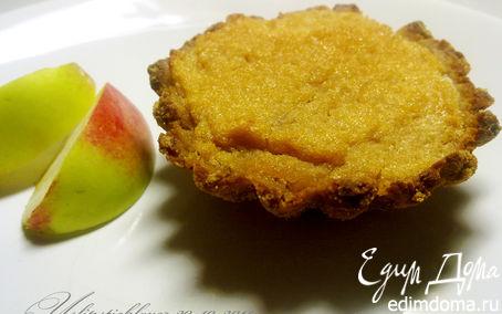 Рецепт Корзиночки с яблочным суфле