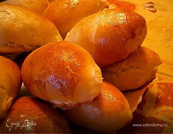 """Пирожки """"Cибирские"""" с квашеной капустой и ягодой"""