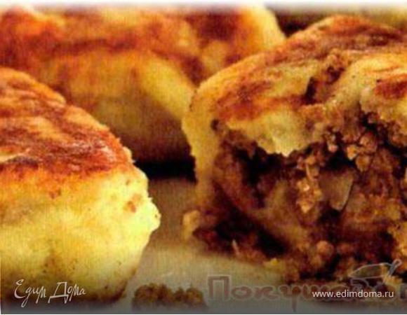 Картофельники с мясом