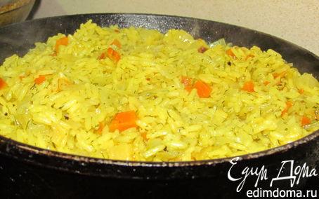 Рецепт Рис в сковородке