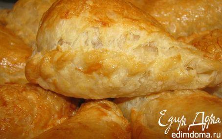 Рецепт Слоечки с сыром и яйцом
