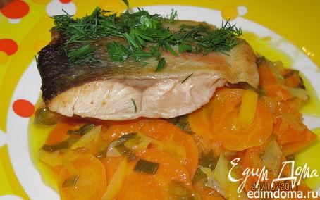 Рецепт Рыба с гарниром по-французски