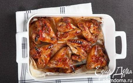 Рецепт Острые куриные крылышки в азиатском соусе