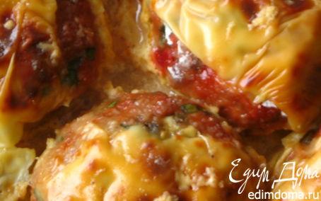 Рецепт Свекольно- мясные тефтели с грибной начинкой