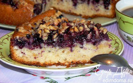Рецепт Пирог с ягодой и хрустящей крошкой
