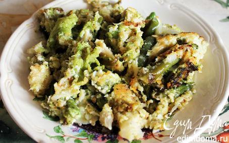 Рецепт Жареные овощи с сыром