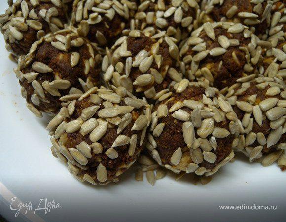Шарики-пироженки с сухофруктами и семечками