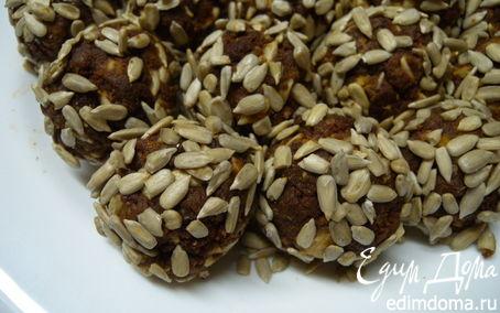 Рецепт Шарики-пироженки с сухофруктами и семечками