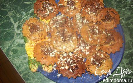 Рецепт Банановые кексы и белым и тёмным шоколадом