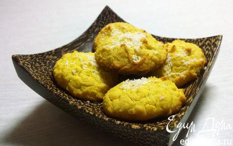 Рецепт Кокосовое печенье из рисовой муки