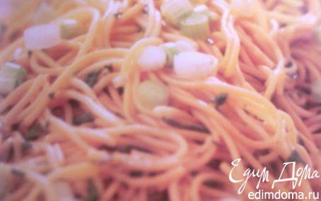 Рецепт Кисло-острый салат из лапши