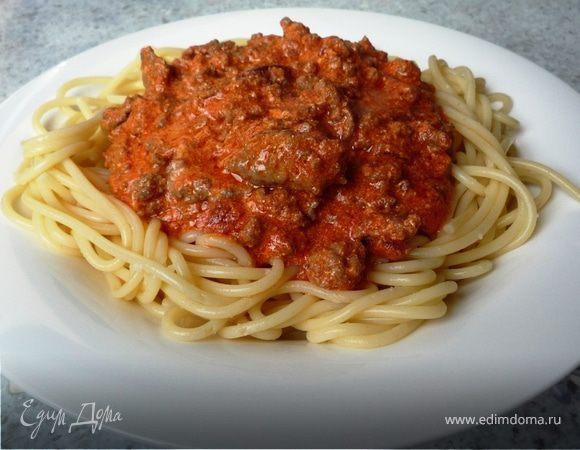Спагетти Болоньез (экспресс вариант)