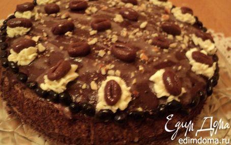 Рецепт Лейпцигский кофейный торт.