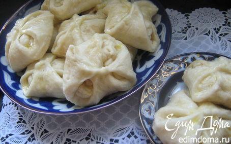 Рецепт Ютангза-паровые пампушки к чаю.