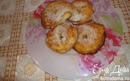 Рецепт Пончики с яблоками