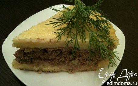 Рецепт Картофельно-мясная вкуснятина в мультиварке