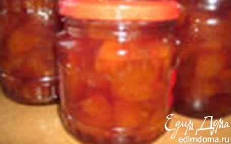 Рецепт Варенье из персиков и груш.