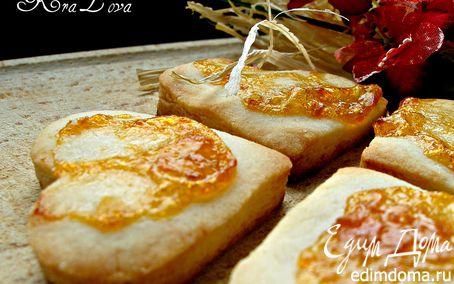 Рецепт Песочное печенье на смальце