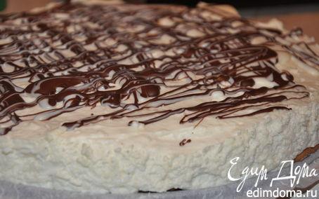 """Рецепт Торт с творожным сыром """"Белый шоколад"""""""
