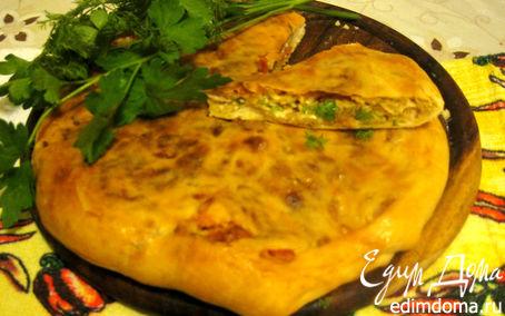 Рецепт Хачапури с помидорами.