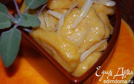 Рецепт Ньокки из тыквы с шалфеем