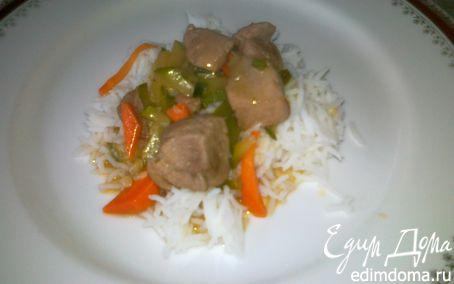 Рецепт Сычуаньская свинина с болгарским перцем