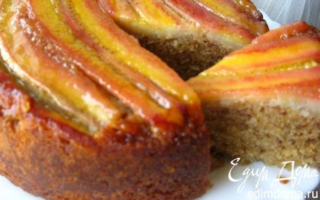 Рецепт Бананово-миндальный пирог в мультиварке