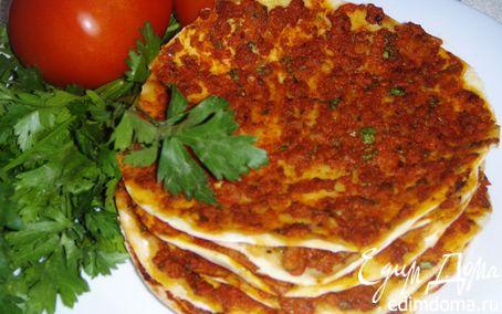 Рецепт Ломаджо - Армянские мясные лепешки