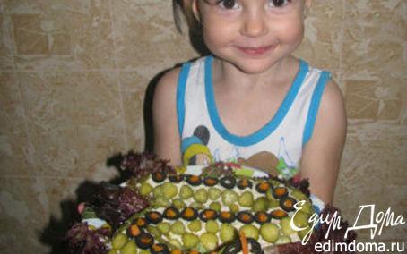 Рецепт салат Змейка