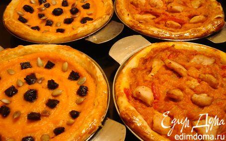 Рецепт Тыквенные пироги сладкие или пикантные