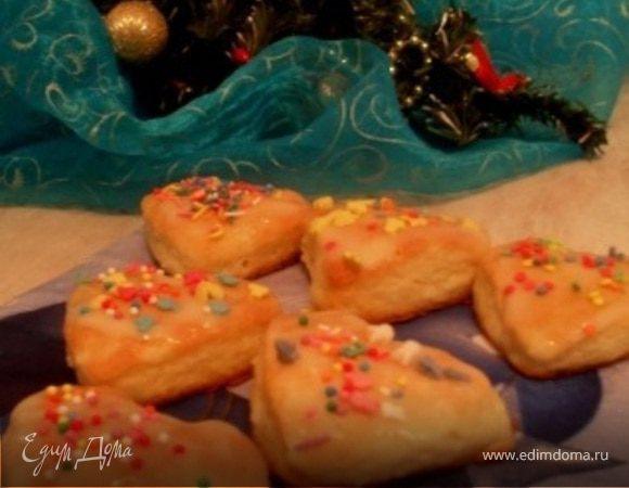 """Tescona.""""Творожное Рождественское печенье"""""""