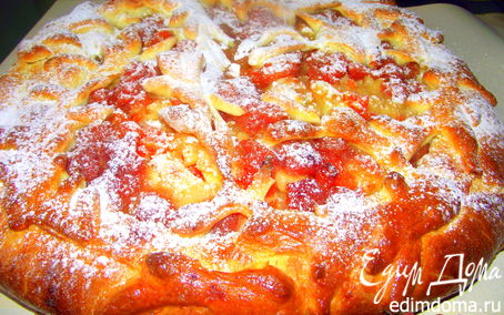 Рецепт Tescoma. Праздничнй пирог