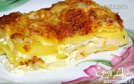 Рецепт – Картофель «Дофине»