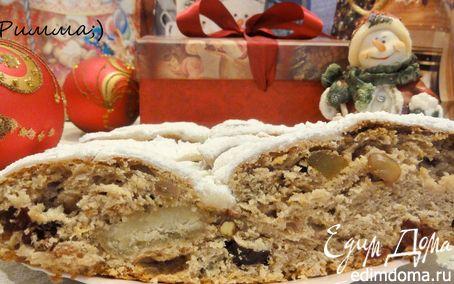 Рецепт Tescoma. Штоллен (немецкий рождественский кекс)