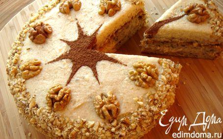 Рецепт Австрийский ореховый торт