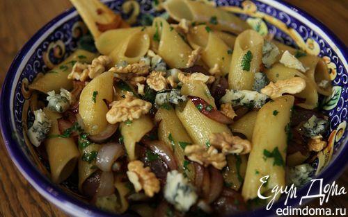 Рецепт Макароны с карамелизированным луком