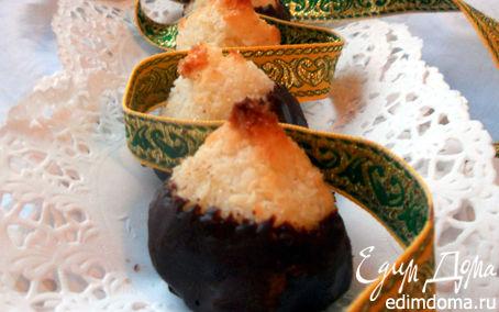 Рецепт Tescoma. Кокосово-имбирные пирамидки