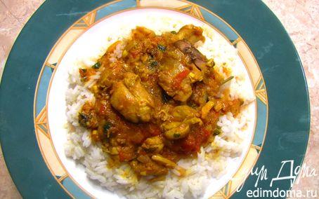 Рецепт Карри с курицей - аромат Индии