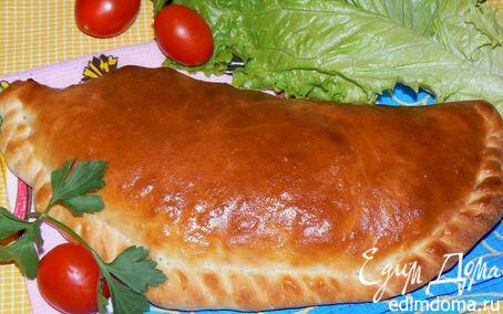 Рецепт Итальянская пицца Кальцоне