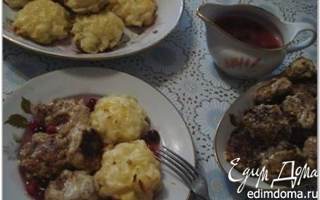 Рецепт Шведские фрикадельки кёттбуллар