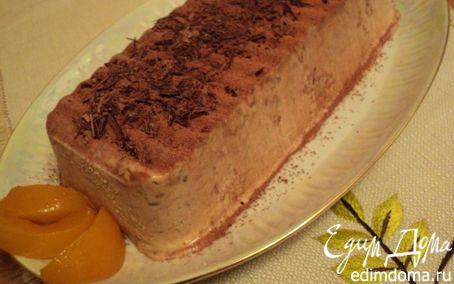 Рецепт Шоколадно-миндальный семифредо