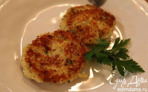 Рецепт Картофельные биточки с сыром и зеленью