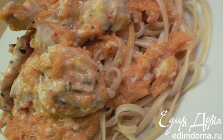 Рецепт Паста с курицей и тыквой