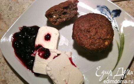 Рецепт Творожно-овсяные маффины (кексы...)