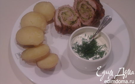 Рецепт Рулетик из свининки с броколи
